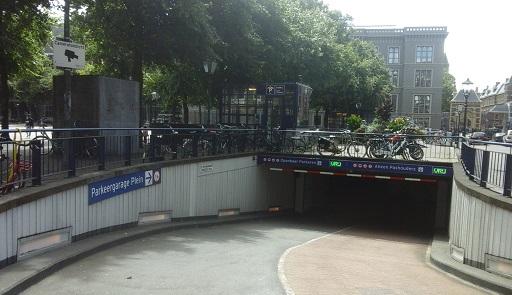 parkeren plein den haag